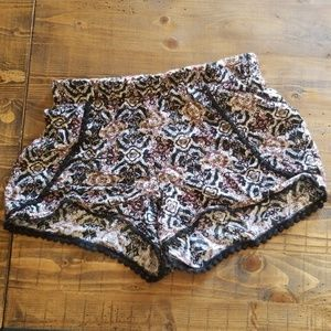 Full tilt boho flowy shorts